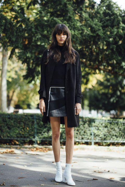 size 40 bd1ca d3691 Stivaletti bassi come abbinarli: 18 outfit moda inverno 2018