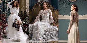 abiti da sposa inverno