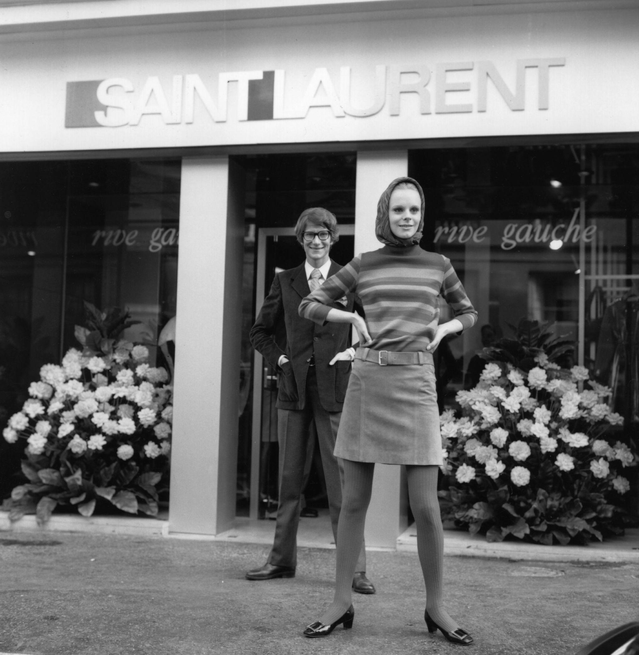 Più Laurent Del I Saint Genio Yves Modelli Moda Della Iconici wZCqInAx
