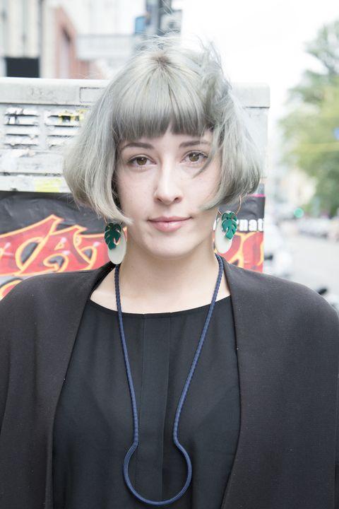 <p><strong>密かな野望/</strong>日本で働くこと</p><p>現在、大学でデザインを専攻しているクレアさん。日本への関心が強く、将来の夢はなんと「日本へ行ってイラストレーターとして働くこと」なんだとか! 感度の高い彼女なら、きっと夢を叶えられるはず♡</p>