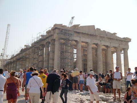 <p>ギリシャを訪れたら、まずはここ。</p>