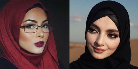 ムスリム女性の本気アイメイク術...