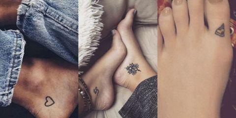 さりげなくオシャレ♡な「足タトゥー」17選