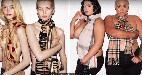 人気ファッション広告を、プラスサイズ女子が再現!