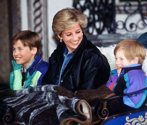 ウィリアム王子 ヘンリー王子 ダイアナ妃