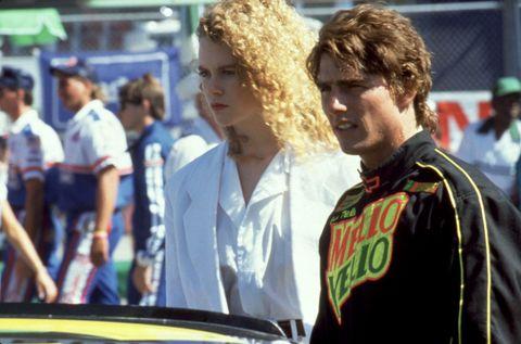 """<p><strong data-redactor-tag=""""strong"""">出世作</strong>:「デイズ・オブ・サンダー」</p>  <p>オーストラリアの一女優にすぎなかったニコールを見初めて、トム・クルーズが自分の相手役に抜擢した「デイズ・オブ・サンダー」(1990)。トム演じるレーサーと恋に落ち、彼を献身的に支える医者に扮するニコールのクールビューティーっぷりが際立っています。これを機にハリウッドへとステップアップし、ついでにトムのハートもゲット! 後に離婚しちゃいますが。</p>"""