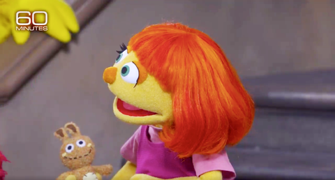Yellow, Toy, Orange, Wig, Baby toys, Red hair, Bangs, Fictional character, Animation, Plush,