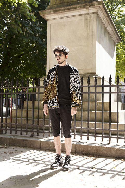 Street fashion, Photograph, Clothing, Fashion, Snapshot, Jacket, Outerwear, Footwear, Leather jacket, Leather,