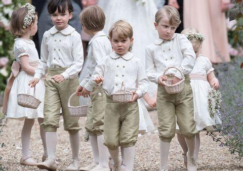 ピッパ・ミドルトンの結婚式でジョージ王子が泣いた理由