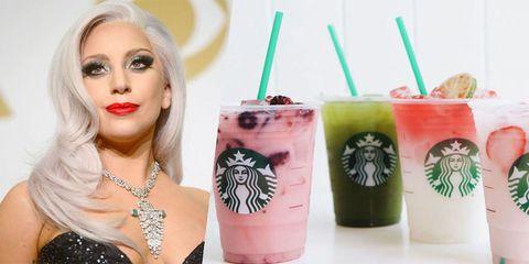 Lip, Drinking straw, Drink, Eyelash, Drinkware, Logo, Eye liner, Body jewelry, Juice, Eye shadow,
