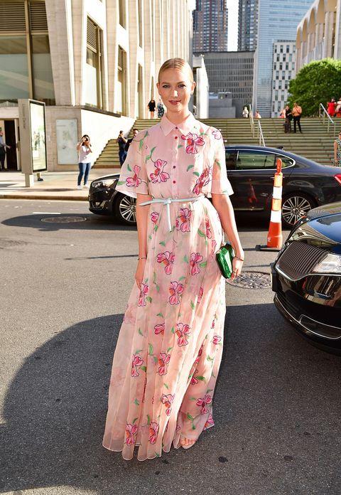 Clothing, Pink, Street fashion, Dress, Fashion, Costume, Footwear, Kimono, Vehicle, Formal wear,