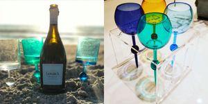 欲しい!夏のビーチに「刺せる」ワイングラス♡