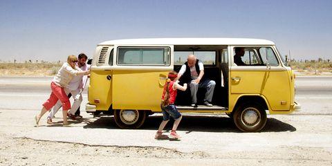Motor vehicle, Yellow, Mode of transport, Vehicle, Transport, Car, Samba, Volkswagen type 2, Landscape, Van,