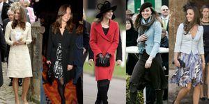 キャサリン妃の独身時代ファッション