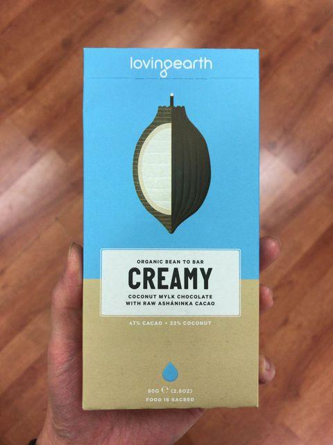 Loving earth(ラビングアース)のクリーミーチョコレート