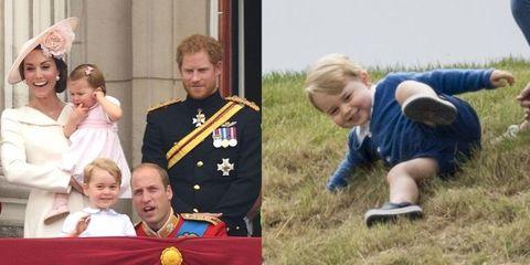 微笑ましい♡ジョージ王子のベストショット23選