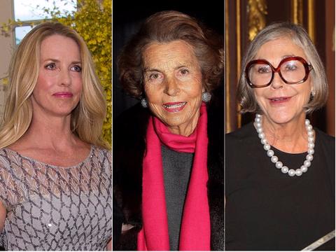 世界の「女性大富豪」ランキング10