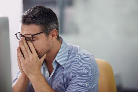 「仕事でストレスを抱えている」