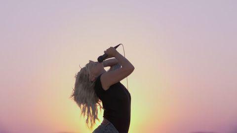 Photograph, Shoulder, Beauty, Sky, Joint, Arm, Photography, Long hair, Human body, Photo shoot,