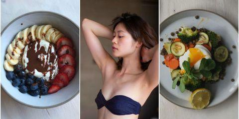 Food, Dish, Fruit salad, Cuisine, Salad, Meal, Superfood, Ingredient, Lunch, Breakfast,