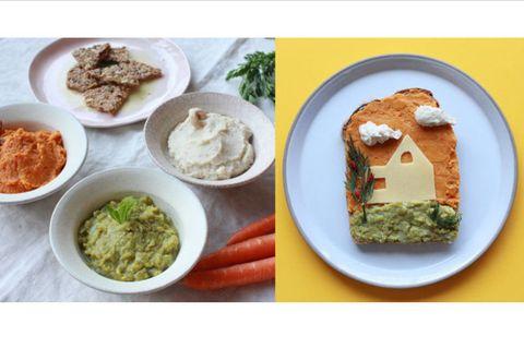 ベジディップ(野菜のディップ)/アーキテクトースト(architectoast)/トーストアート