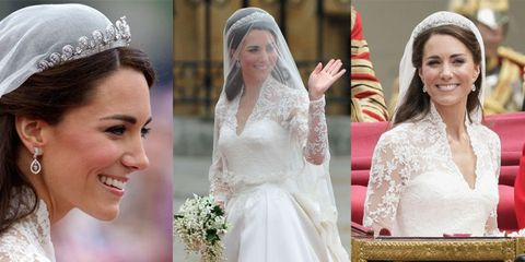 Headpiece, Veil, Bride, Hair accessory, Clothing, Bridal accessory, Wedding dress, Bridal veil, Dress, Fashion accessory,