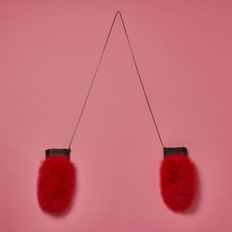 Red, Pink, Fur, Coquelicot,