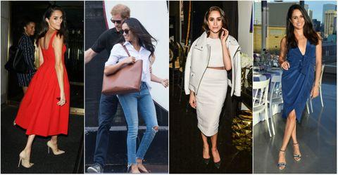 """<p>婚約会見や初公務などで披露したエレガントな装いが絶賛され、いまやファッションアイコンとしても大注目のメーガン・マークル。今後、王室の暗黙のルールでフォーマル化してしまう!? その前に、これまでの彼女のファッションを総チェック! ヘンリー王子もファンだったというドラマ『SUIT/スーツ』の""""デキる女""""風コーデからオフでのさわやかなデニムルックまで、シンプルながらもしっかりと女らしさをおさえた、男子ウケ抜群なメーガンスタイルのポイントをピックアップしました!<span class=""""redactor-invisible-space"""" data-verified=""""redactor"""" data-redactor-tag=""""span"""" data-redactor-class=""""redactor-invisible-space""""></span></p>"""