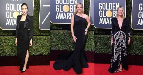 ゴールデングローブ賞で、セレブが魅せた「黒ドレス」術8