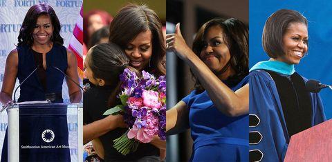 """<p>1月17日で54歳を迎えたミシェル・オバマ。バラク・オバマ前大統領のすばらしきパートナーとして、ふたりの娘のたくましい母として、愛にあふれたファッショナブルなパワーウーマンとして、未だに世界を魅了し続ける彼女の、力強い格言をここにご紹介。後世にまで伝えたくなる、その言葉の数々をご覧あれ。<span class=""""redactor-invisible-space""""></span></p>"""