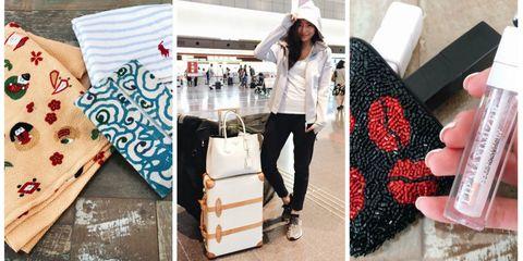 Clothing, Street fashion, Fashion, Plaid, Footwear, Design, Outerwear, Leggings, Pattern, Leg,