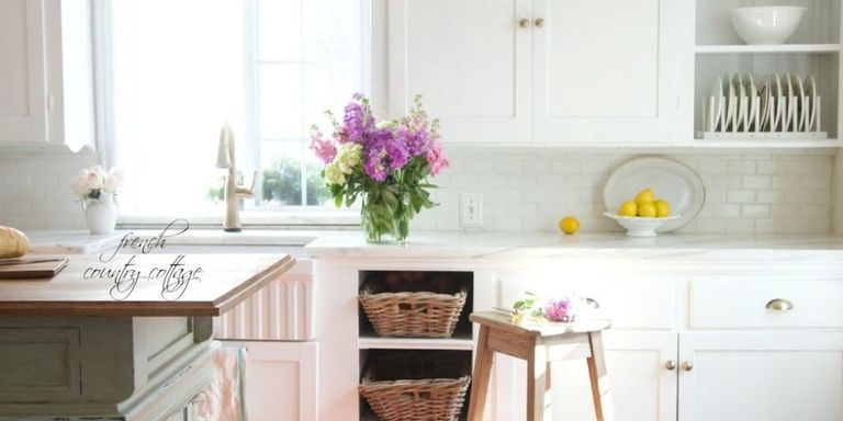 California French Country Style Cottage House Tour - Elegant ...