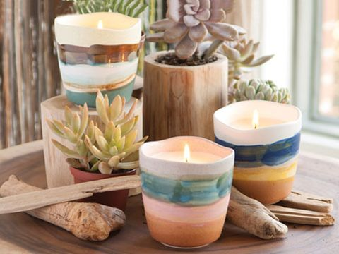 Ceramic, Serveware, Interior design, Teal, Flowering plant, Turquoise, Aqua, Candle, Dishware, Still life photography,