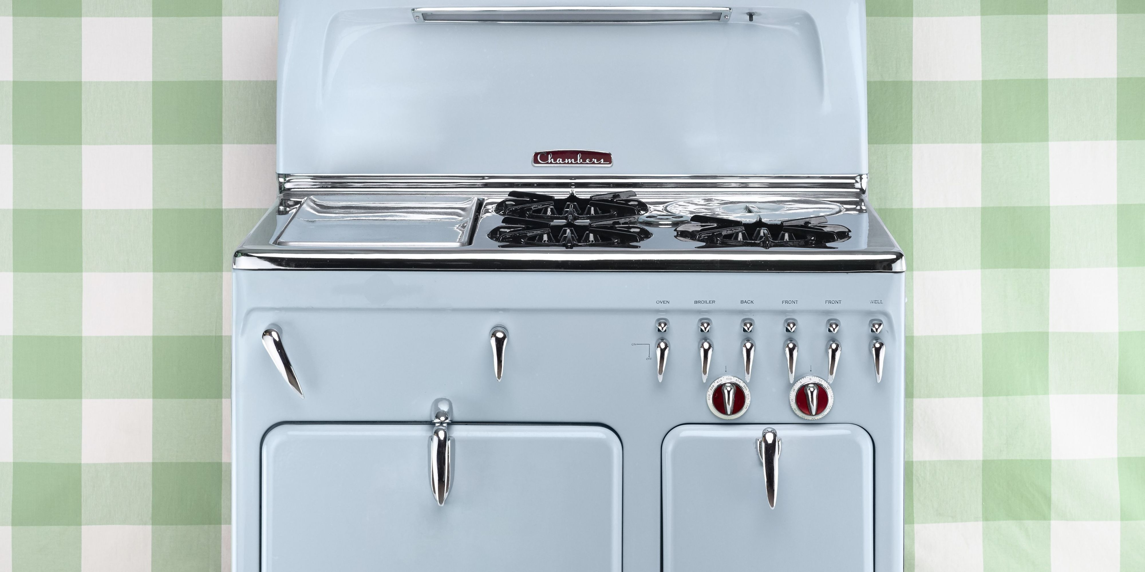sturdy and striking these smart appliances cook up serious style  antique stoves   vintage stoves  rh   countryliving com