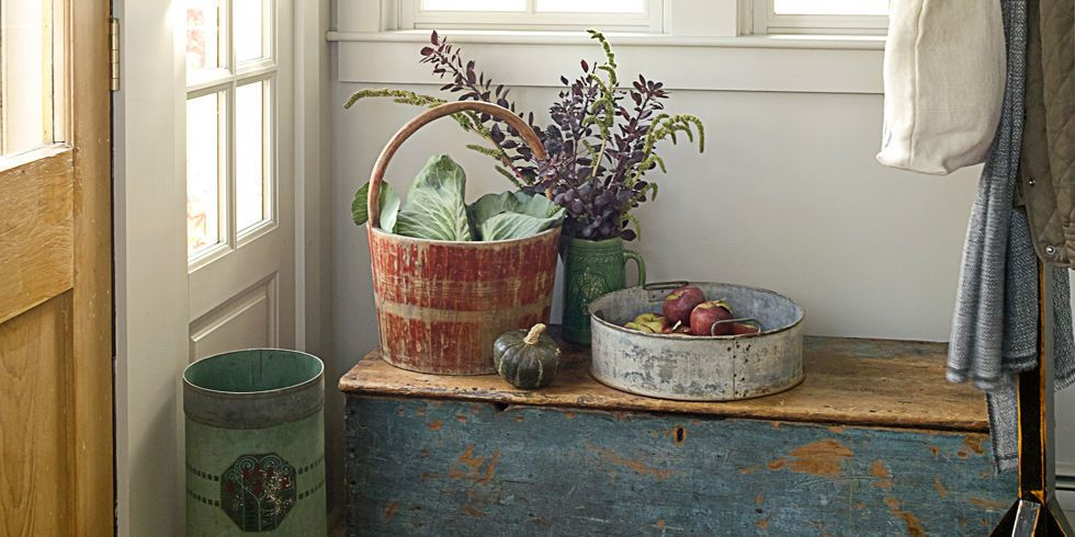 Ideas To Decorate Entrance Of Home Part - 30: Country Living Magazine