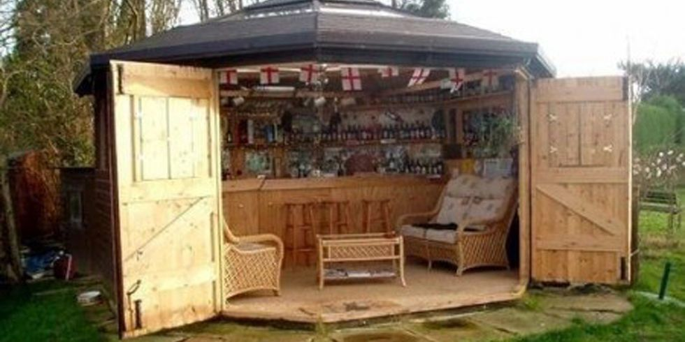 Here S Why Tiny Bar Sheds Are The Hottest New Trend