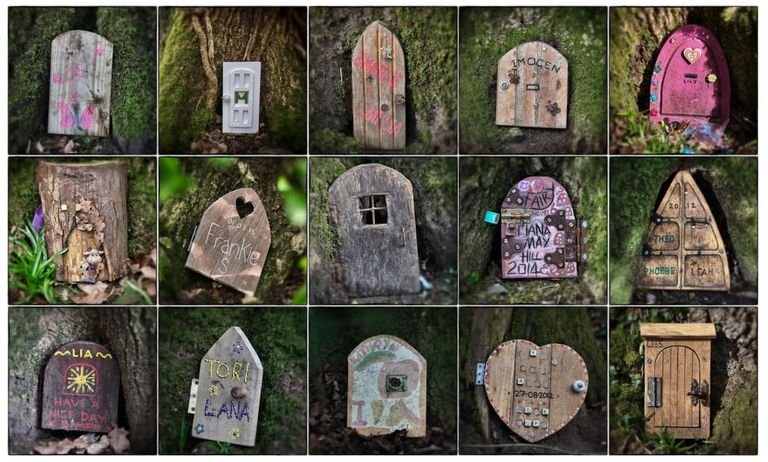 Fairy door crackdown in english woods outdoor living for The works fairy door