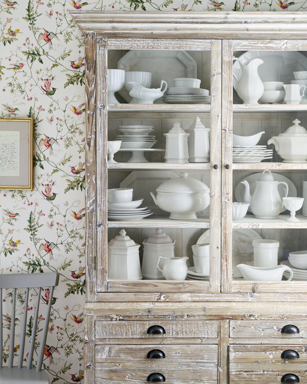 Vintage Décor Ideas China Cabinets