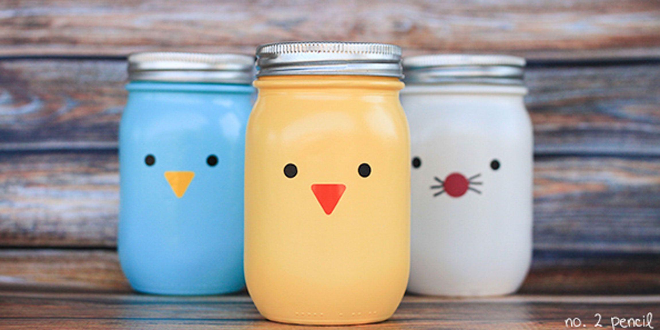 This mason jar bunny nest is the easiest diy easter gift how to 15 cheerful ways to use mason jars this spring negle