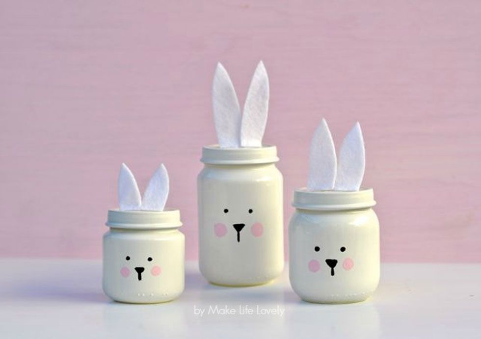 Easter mason jars spring mason jar craft ideas negle Choice Image