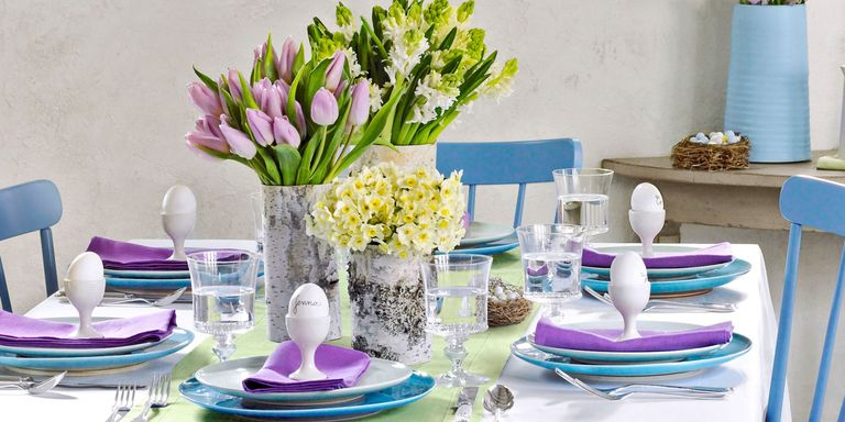 33 Beautiful Easter Table Decorations And Centerpieces
