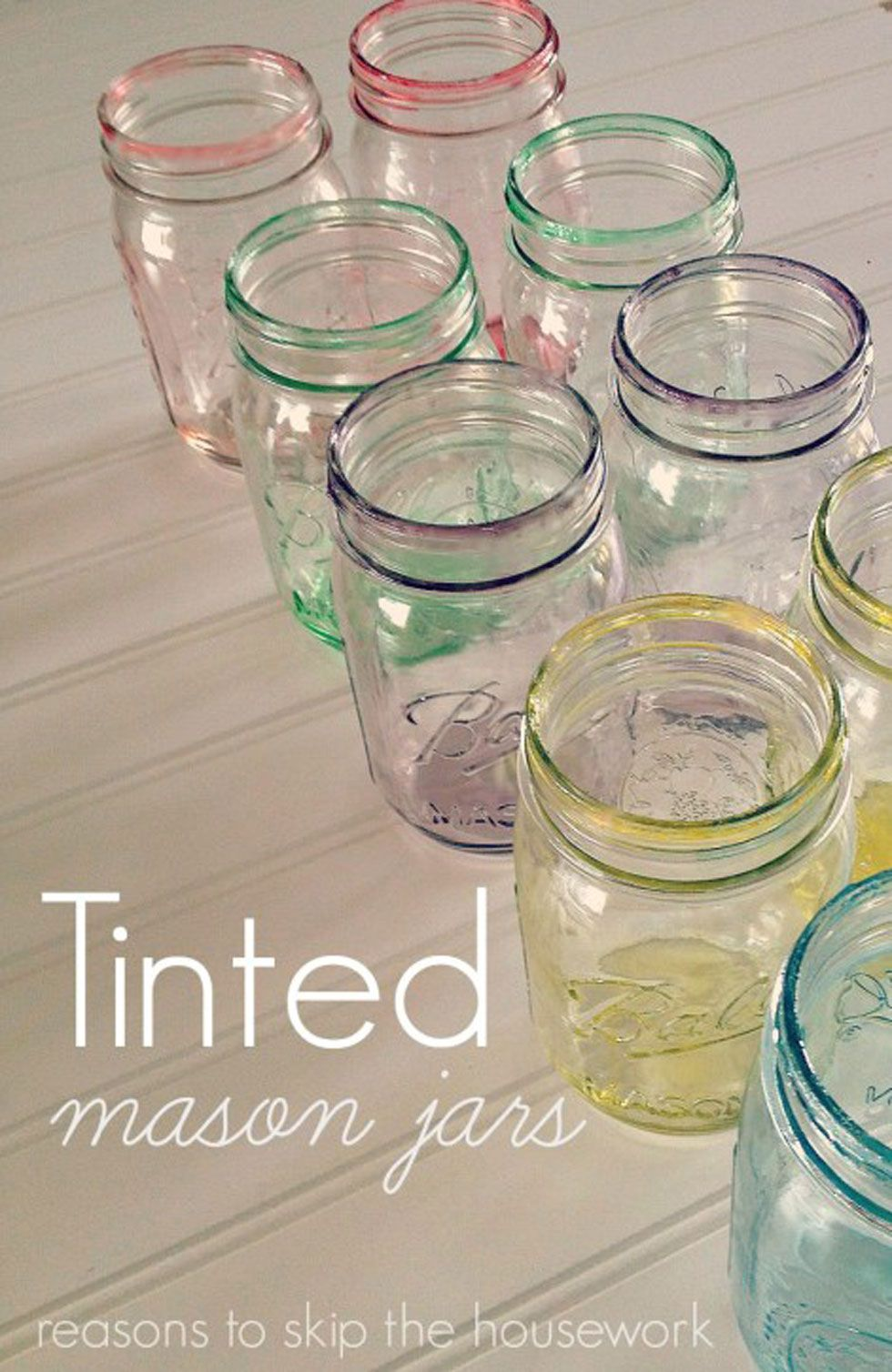 Easter Mason Jars Spring Mason Jar Craft Ideas