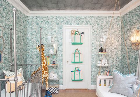 Interior design, Room, Wall, Ceiling, Interior design, Home, Teal, Giraffe, Turquoise, Floor,