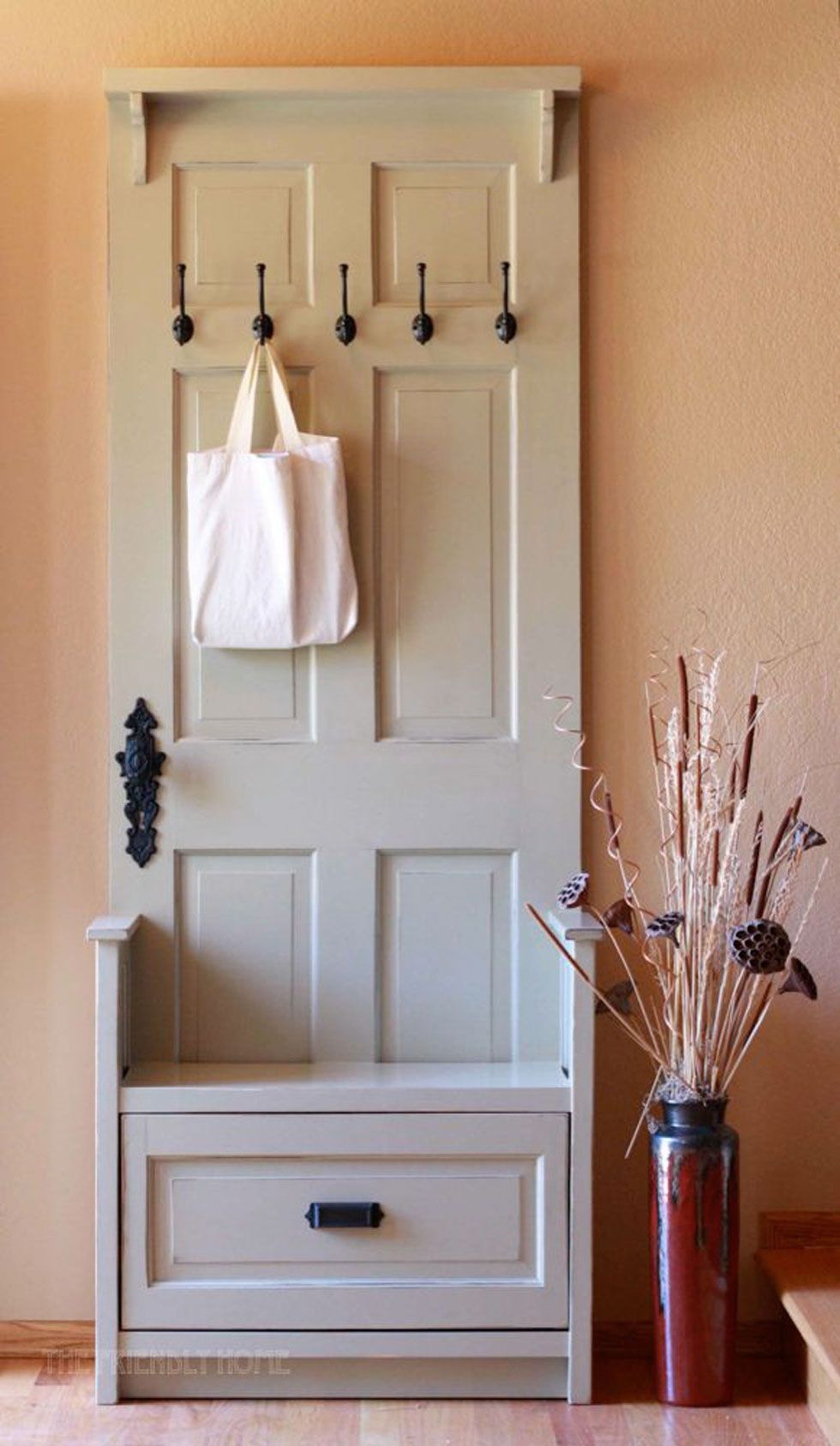 & Repurposed Door Crafts - Easy Craft Ideas