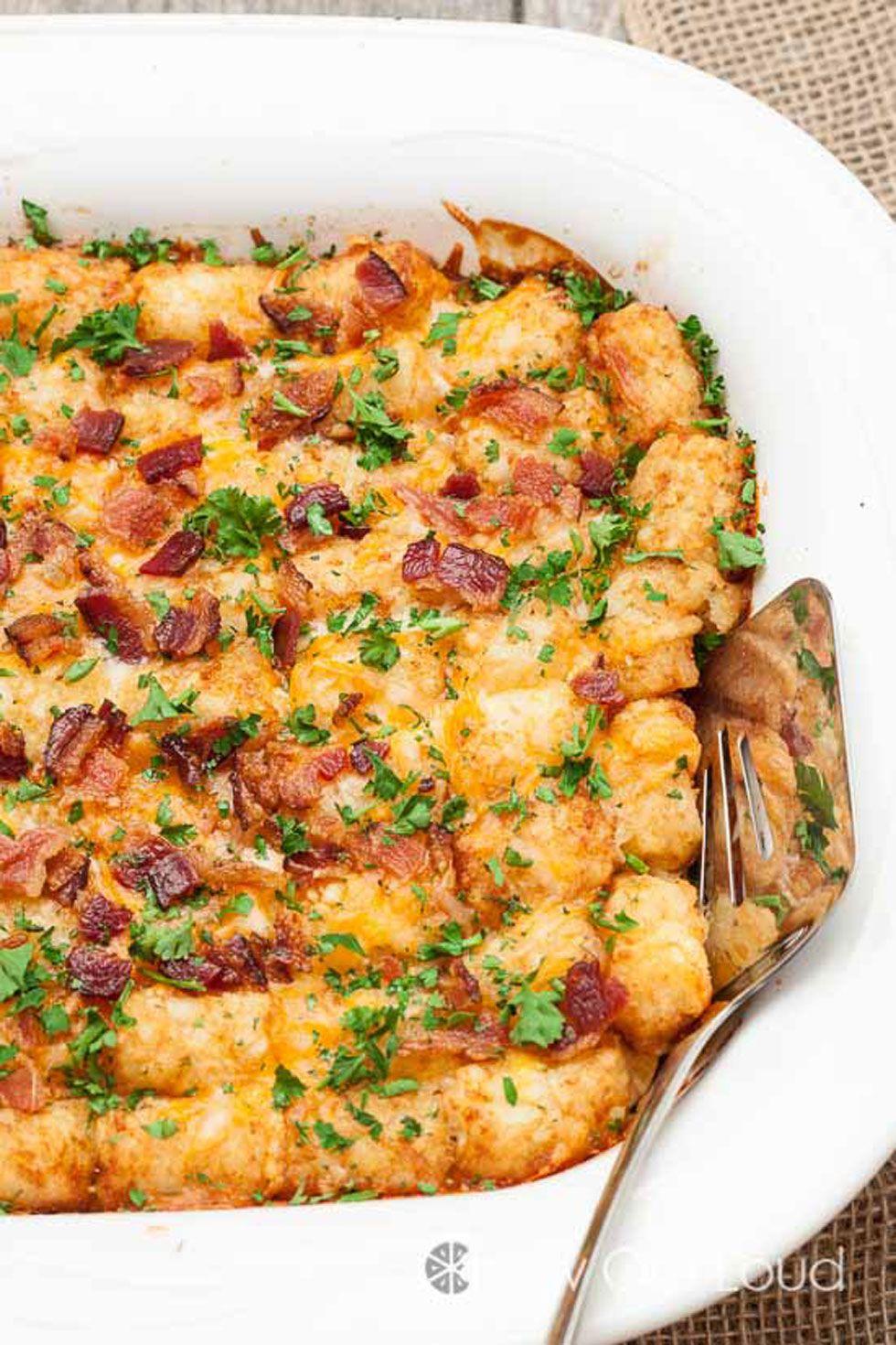 65 easy breakfast casserole recipes - best make ahead egg breakfast
