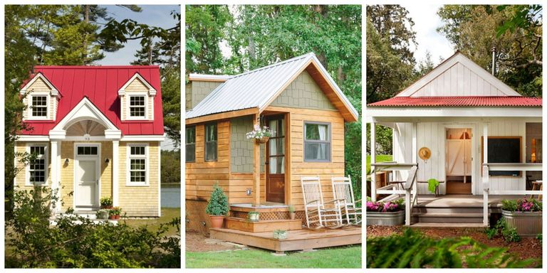Tiny Houses Are Popping Up Around The Country As More People Decide To Downsize Their Lives While Structures Often Measure Less Than 300 Square Feet