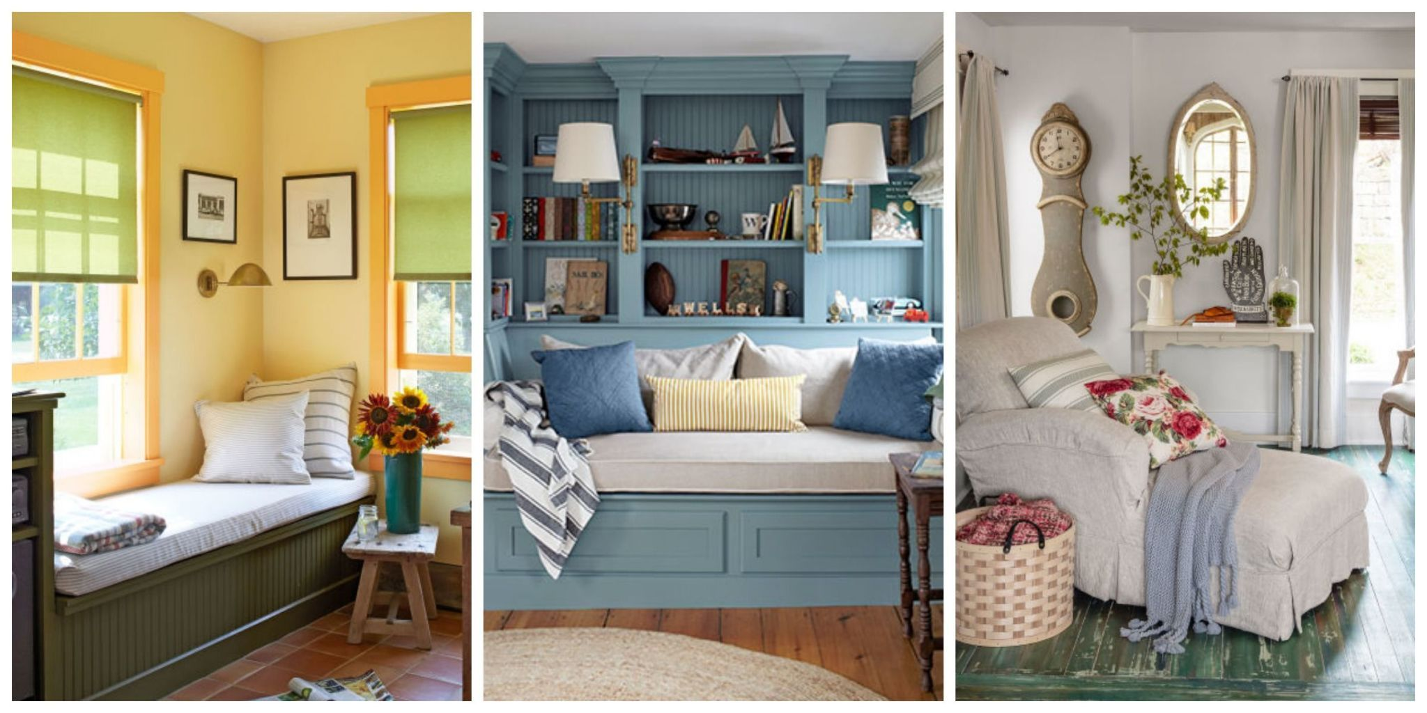 Because sometimes all you need in life is a comfy chair and a good book. & Reading Nooks - Cozy Decorating Ideas