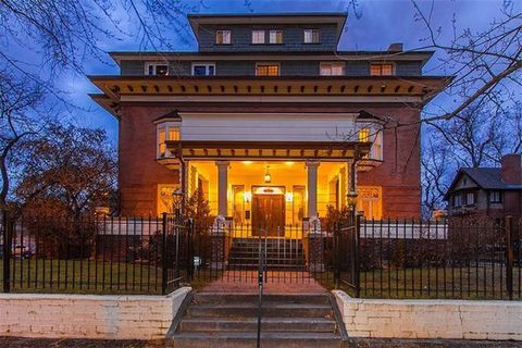 Historic Denver Waldron Bonfils Mansion - Historic Homes for Sale