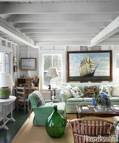 Interior design, Green, Room, Wall, Floor, Home, Furniture, Ceiling, Interior design, Teal,