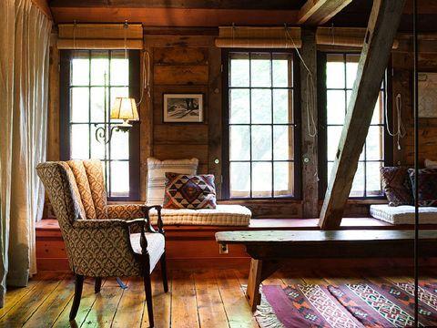 Wood, Room, Interior design, Floor, Window, Hardwood, Flooring, Ceiling, House, Home,